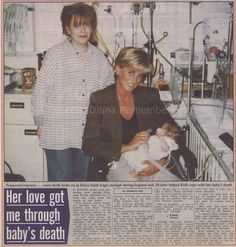 The Sun September 3rd 1997 : Diana's love helped me through my baby's death - princess-diana-remembered.com