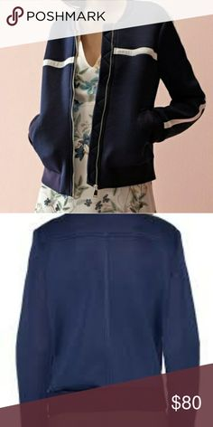 Last chance! Willow and Clay Mesh Track Jacket Nwt! Willow and Clay Mesh Track Jacket  *nail that athleisure look!*  -front zip closure  -ribbed collar, cuffs and hem -front welt pockets Willow & Clay Jackets & Coats