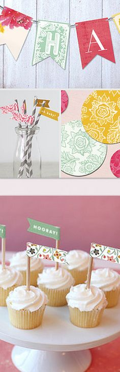 Pretty parties! Create a colorful, festive party in minutes with these 'Party in a Box' kits