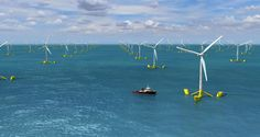 Eolico galleggiante: potrebbe produrre 4 volte lenergia necessaria allEuropa