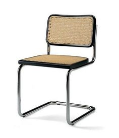 Marcel Breuer Cesca Cane Chair,  Ontwerp 1928 Fabrikant Knolll Origineel van Mart Stam