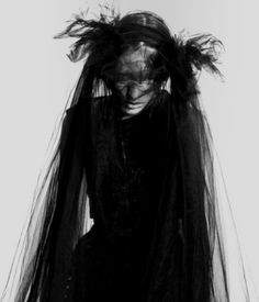 Black veil. 3 for scene 7, Narrator women. Should cover parts of their face.