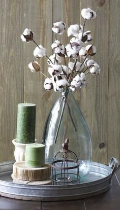 southern home decor These Small Cotton Stems make a big impact in any space! Add to a vase for a beautiful centerpiece! Pair with our Cotton Wreath for a beautiful Farmhouse look! - One bundle of 3 preserved cotton stems Country Decor, Rustic Decor, Country Homes, Rustic Design, Cotton Decor, Nest Design, Wall Design, Deco Floral, Diy Décoration