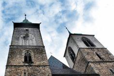 St. Jakub's Church, Jihlava, Czech Republic #monuments #church I Saw, Czech Republic, Monuments, Building, Travel, Viajes, Buildings, Trips, Construction