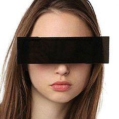 Censor bar sunglasses,Black Bar eye covered Sunglasses,Funny party glasses #Unbranded #Rectangular