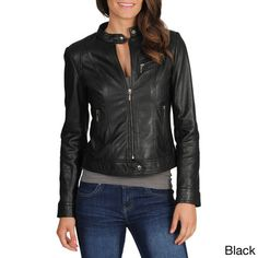 Leather jacket for motorcycle rides :)