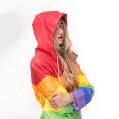 Silvana Imam in the Vladimir Coat by Stutterheim. Girls Wear, Women Wear, Rain Wear, Girls In Love, Knitwear, Rain Jacket, Windbreaker, Celebs, Accessories