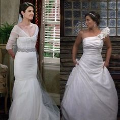 Dream wedding dress and hair (Victoria from How I Met Your ...