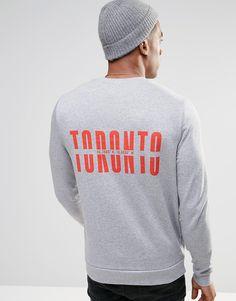 Imagen 1 de Sudadera con estampado de Toronto de ASOS
