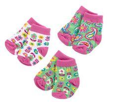 Extra socks are essential! #vbpinparty | Vera Bradley Baby Socks 3 Pair 0-12M