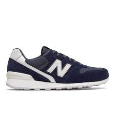 696 New Balance Women's Shoes - Navy/Off White (WL696CGN)