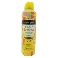 Neutrogena® Beach Defense® Sunscreen Spray SPF 70 6.5 oz : Target