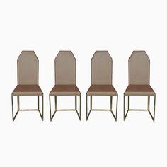 Vintage Stühle aus Messing & Kupferfarbenem Stoff, 4er Set Jetzt bestellen unter: https://moebel.ladendirekt.de/kueche-und-esszimmer/stuehle-und-hocker/esszimmerstuehle/?uid=badbd0e2-1b69-54f5-a563-4725509515b3&utm_source=pinterest&utm_medium=pin&utm_campaign=boards #kueche #sets #esszimmerstuehle #esszimmer #hocker #stuehle Bild Quelle: pamono.com