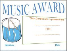 Sample Recognition Award  Awards Certificates Template