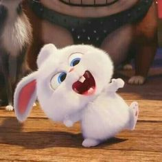 64 Best Ideas For Funny Animals Cartoon Movies Cute Bunny Cartoon, Cute Cartoon Pictures, Cartoon Pics, Cute Cartoon Wallpapers, Funny Pics, Rabbit Wallpaper, Bear Wallpaper, Snowball Rabbit, Disney Phone Wallpaper