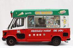 Ice-cream vans: ice-cream vans #britairtrans