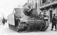 German Sturmpanzer assault gun, date unknown