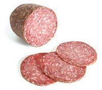 Homemade Salami: 2 pounds ground beef 1/4 teaspoon garlic powder 1/4 teaspoon onion powder 1/2 teaspoon mustard seed 2 tablespoons curing salt 1 tablespoon c...