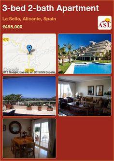 3-bed 2-bath Apartment in La Sella, Alicante, Spain ►€495,000 #PropertyForSaleInSpain