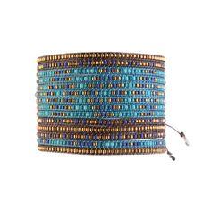 Bracelet Multirows Dark Blue Turquoise Aqua - Mishky - Brazilian Bikini Shop #brazilianbikinishop #BBSFashion #mishky