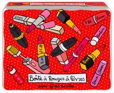 keladeco.com - Boite à rouge à lèvres compartimentée - Derrière la porte