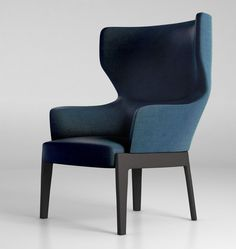 chelsea | molteni & c. Unusual almost folded shell and flat profile a frame legs, not sure it all sits well together.