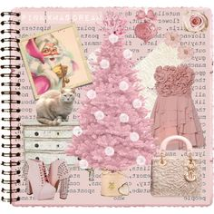 A fashion look from December 2012 featuring doll dress, forever 21 jewelry and heart jewelry. Journal Pages, Xmas, Clothes For Women, My Style, Polyvore, Pink, Dress Code, Women's Clothing, Forever 21
