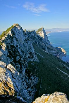 Gibraltar. Two weeks ago I climbed up Mediterranean steps, fantastic exercise, views are breathtaking, overall perfect day out.