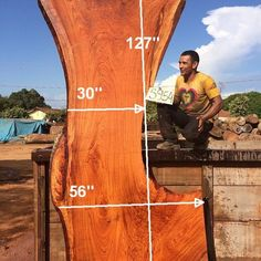 Jatoba is also known as Brazilian Cherry. We have an abundant amount of Jatoba available as it is reclaimed through our Harvesting program (Dead, Dying, and Downed trees). Wood Slab Table, Hardwood Lumber, Mantle, Design Projects, Your Design, Catalog, Big, Sims, Mantles