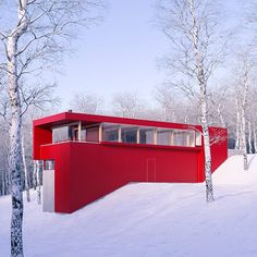 Red House by JVA on Behance
