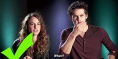 Kaya and Dylan! His reaction after he was told he was the sixth reblogged person on tumblr in 2013.