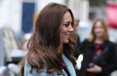 Kate's glossy locks