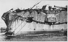 Poškodená prova HMS Hawke
