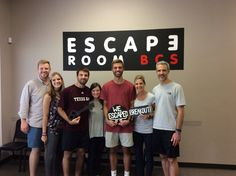 This group was able to escape Sheriff McLarren's offfice in 56 minutes!