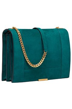 Ellie Saab - I love the color. I'm not a huge fan of the chain bag, but this one calls to me.