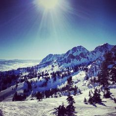 There's nothing like a weekend getaway to the #ski slopes of Utah.    Photo courtesy of ckmercier on Instagram.