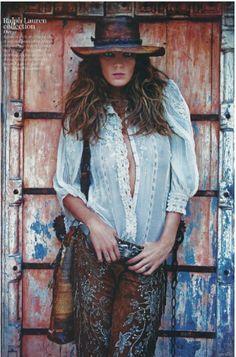 ralph Lauren gypsy style | Ralph Lauren