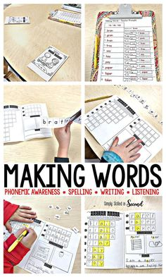 Making Words is an e