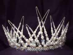 Tiara. Look closely at how this is constructed.  Way cool.