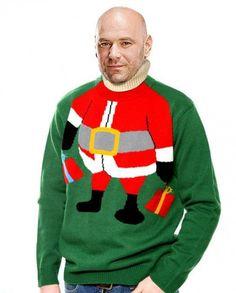 Dana White Reps A Christmas Sweater