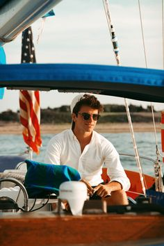 America #boating #preppy