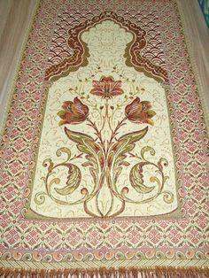Islamic Prayer Rug - CARPET - Mat Namaz Salat Musallah