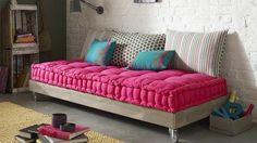 le canapé matelas Bolchoï illuminera votre intérieur