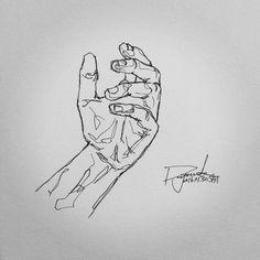 """""""#hand . . . #스케치없이 #막그림 #펜 #펜화 #펜드로잉 #펜그림 #펜아트 #스케치 #그림 #드로잉 #일러스트 #낙서 #데일리아트 #데일리드로잉 #인스타아트 #인스타그림 #그림스타그램 #내가그린그림 #black #white #blackandwhite"""""""