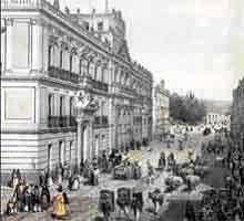 Este edificio es el Palacio de Mineria. El palacio está en la Ciudad de México. Es construió entre 1797 y 1813. La edificio  enseñaba ingeniería y metalurgia para las personas coloniales.