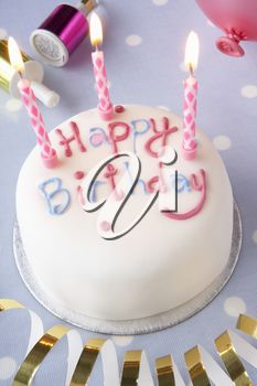 iPHOTOS.com - A birthday cake