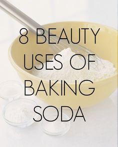 8 Beauty Uses of Baking Soda