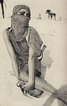 Helmut Newton, 1966 Jill Kennington, Vogue UK April.