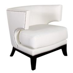 Eclipse Accent Chair in Cream
