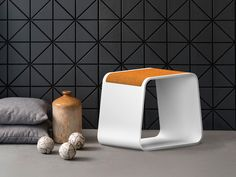 Buy online Stool By ama design, corian® stool / coffee table, nature Collection Small Space Design, Small Spaces, Nature Collection, Stool, Chair, Corian, Interior Design, Design Room, Sink